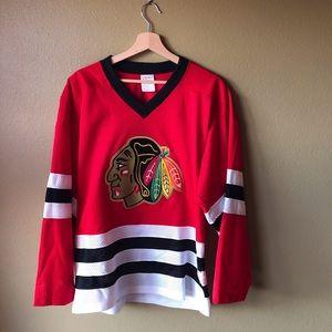 Vintage Chicago Blackhawks Hockey Jersey NHL